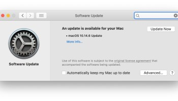 Supplemental Update for macOS Mojave 10 14 6 Released