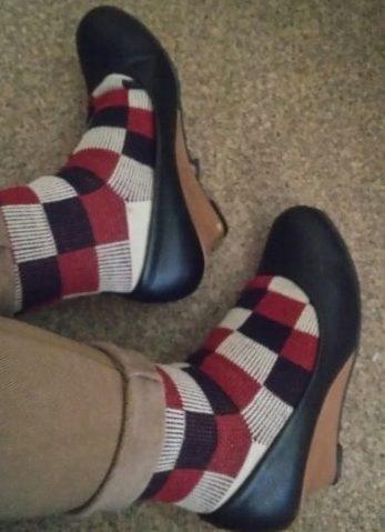 靴下 重ね履き パンプス