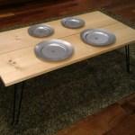 ついに発見!男前キャンプに似合うヴィンテージ加工されたステンレス皿
