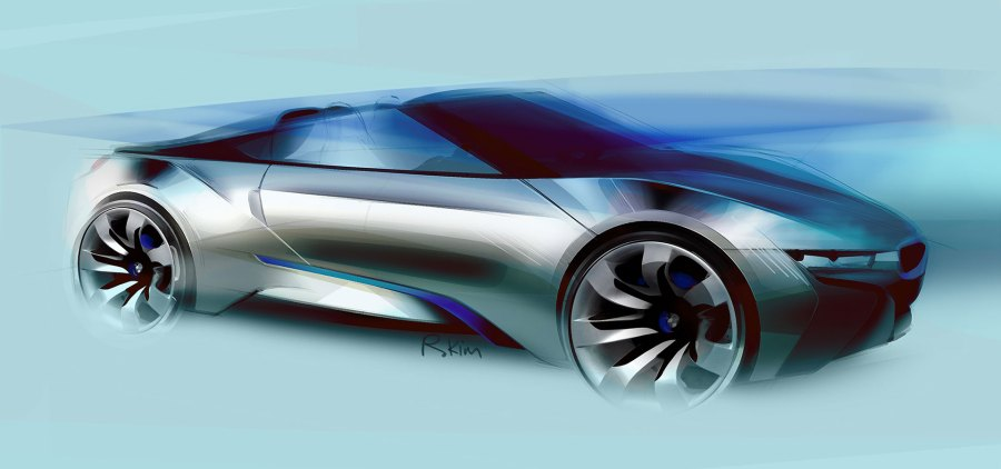 BMW i8 Concept Spyder     Car Body Design   Osyst Studio     Car Body Design  Advertisements