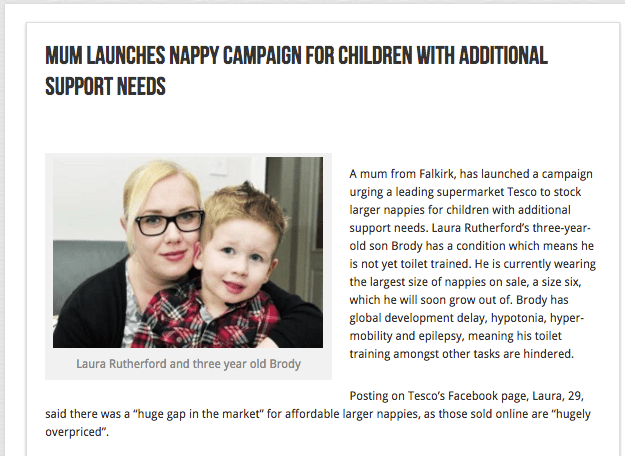 Mums Nappy Campaign