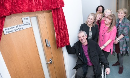 New simulation suite provides occupational therapy students with real life experience