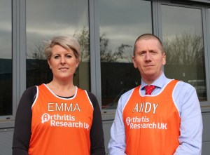 Patterson Medical's Emma Davies-Carolan and Andy Brooker