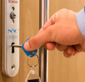 Blue Badge Company promotes accessibility with new radar disability toilet key