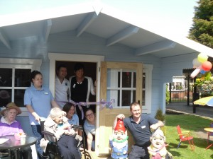 Bupa's Quayside Care Home summerhouse