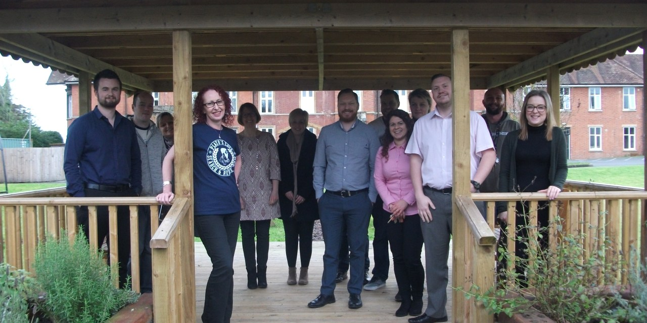 Options celebrate service being shortlisted for a national award