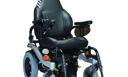 Blazer powerchair from Karma Mobility now available with new captains set