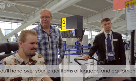 Film help disabled air travellers