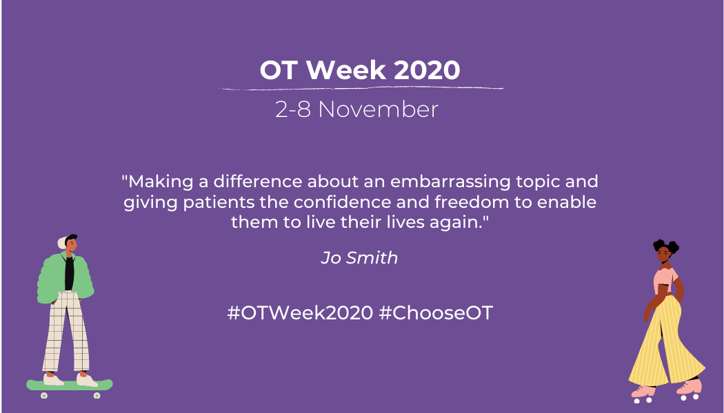 OT Week 2020 – Meet Jo Smith