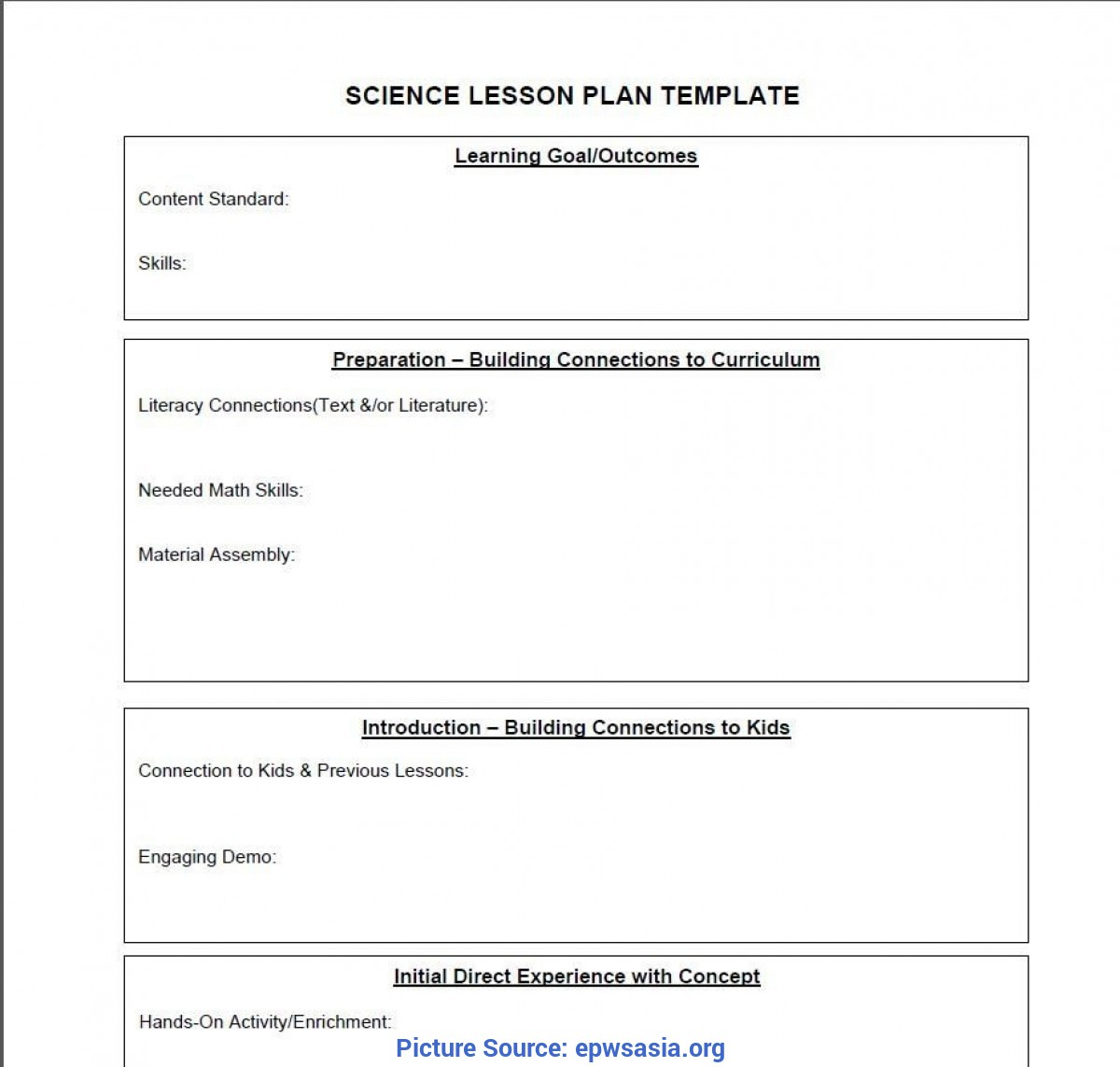 Special Math Shapes Lesson Plans For Preschoolers