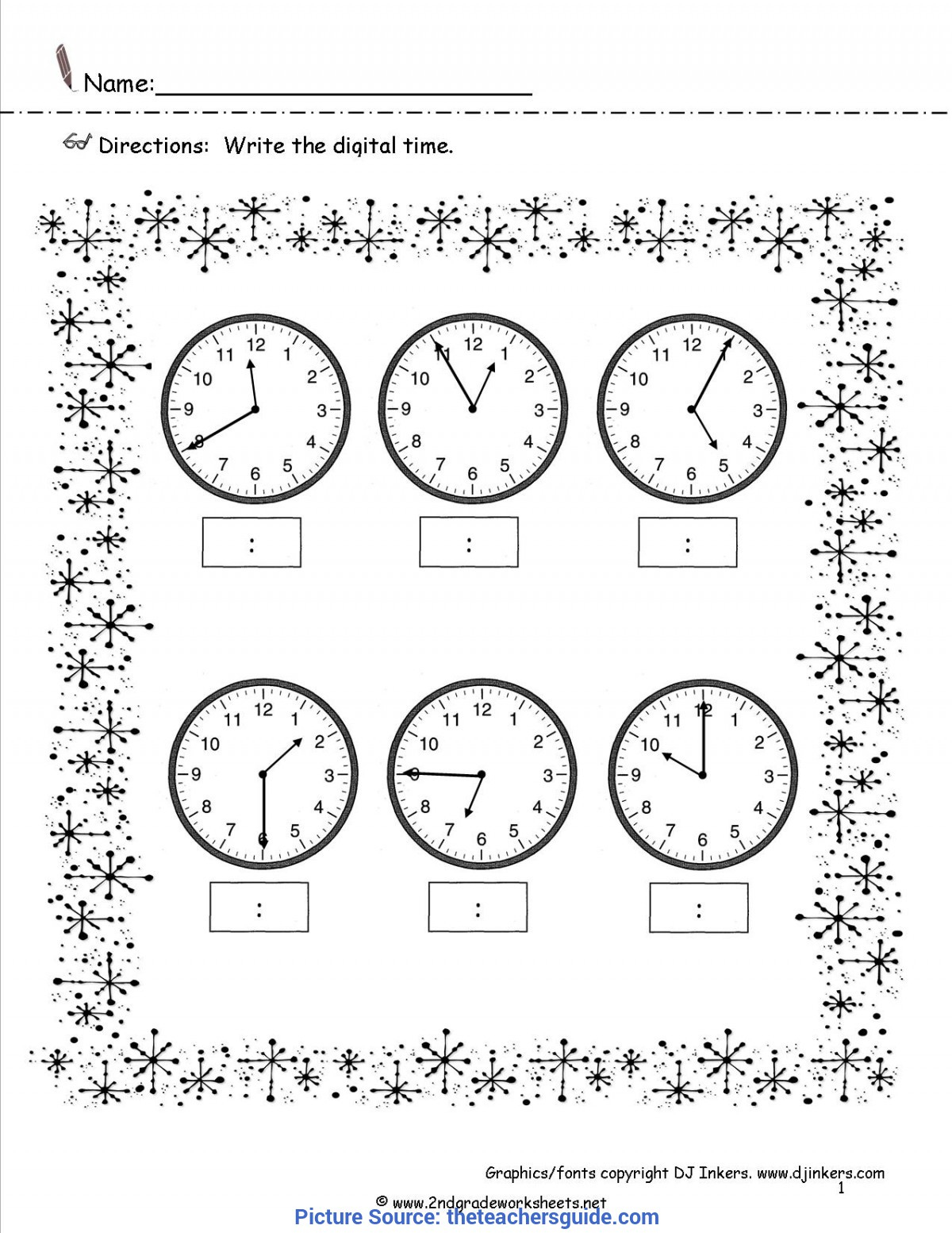 Briliant Lesson Plans For Teaching Time Year 3 Winter