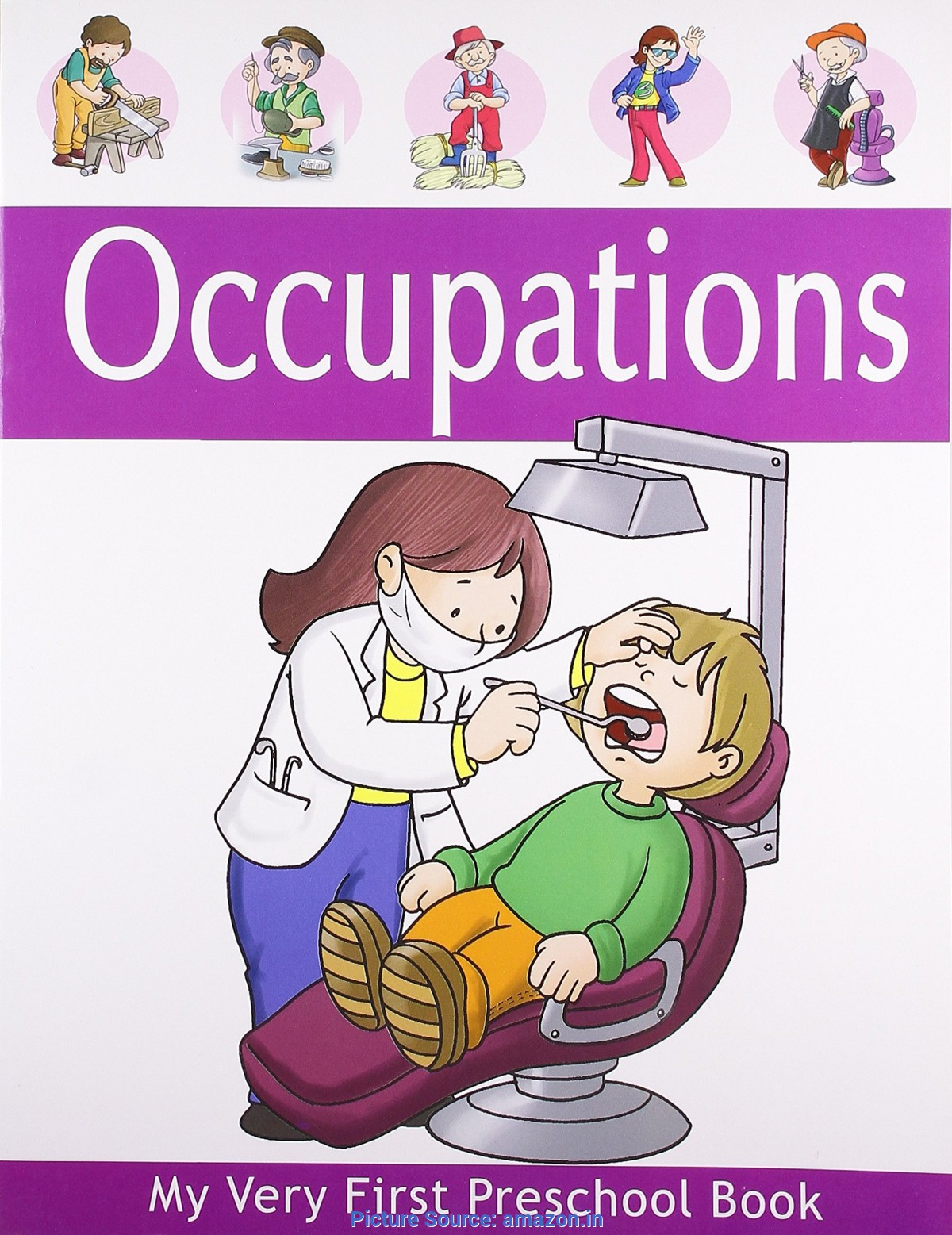 Jobs And Occupations Vocabulary English For Children Es