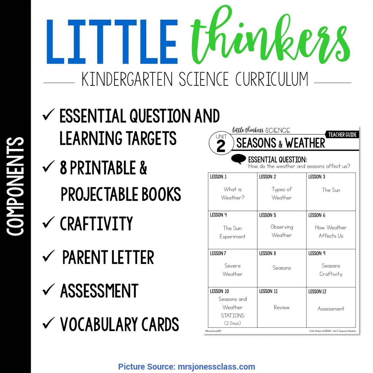 Fresh Kindergarten Lesson Plans Weather Seasons Little