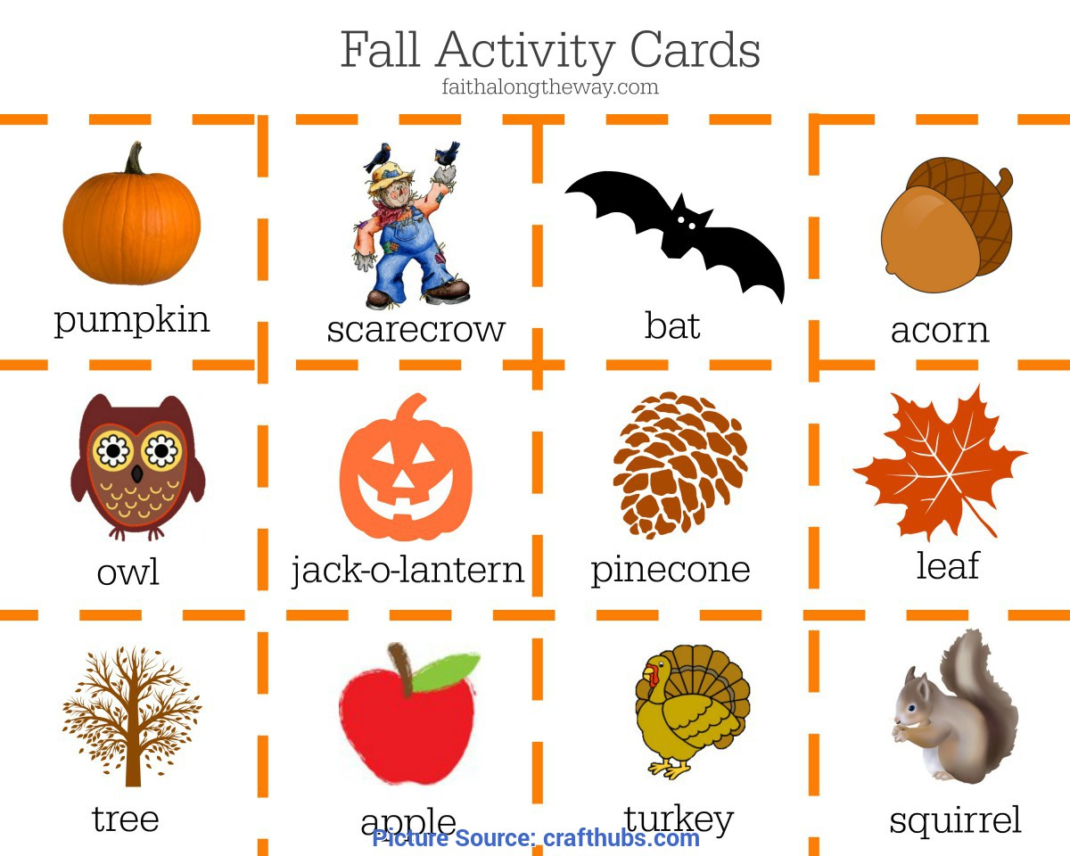Great Autumn Games For Preschoolers Fall Activities Game