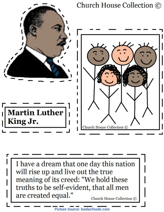 Great Pre K Lesson Plans On Martin Luther King Jr Worksheets For