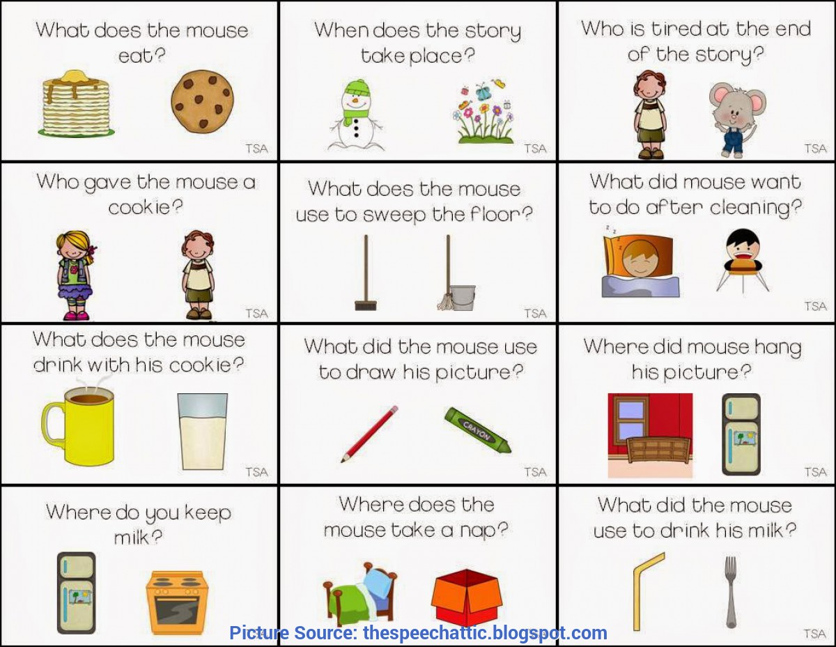 If You Give A Mouse A Cookie Lesson Plan