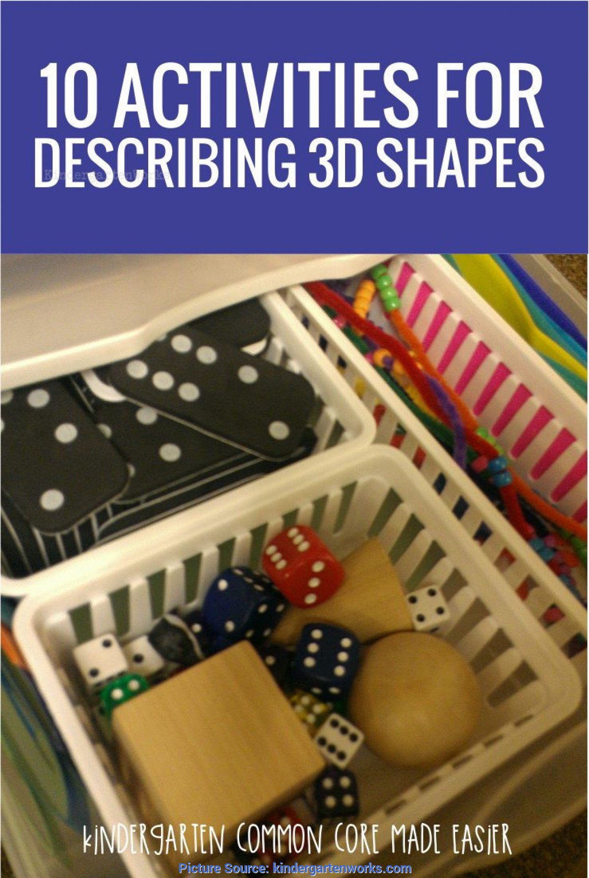 Simple Kindergarten Lesson Plans 3d Shapes 10 Activities For Describing 3d Shapes In Kindergarte