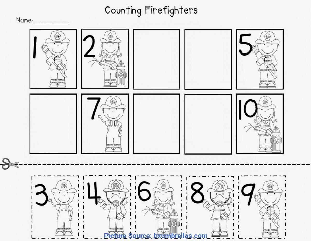 Special Community Helpers Math Activities For Preschoolers