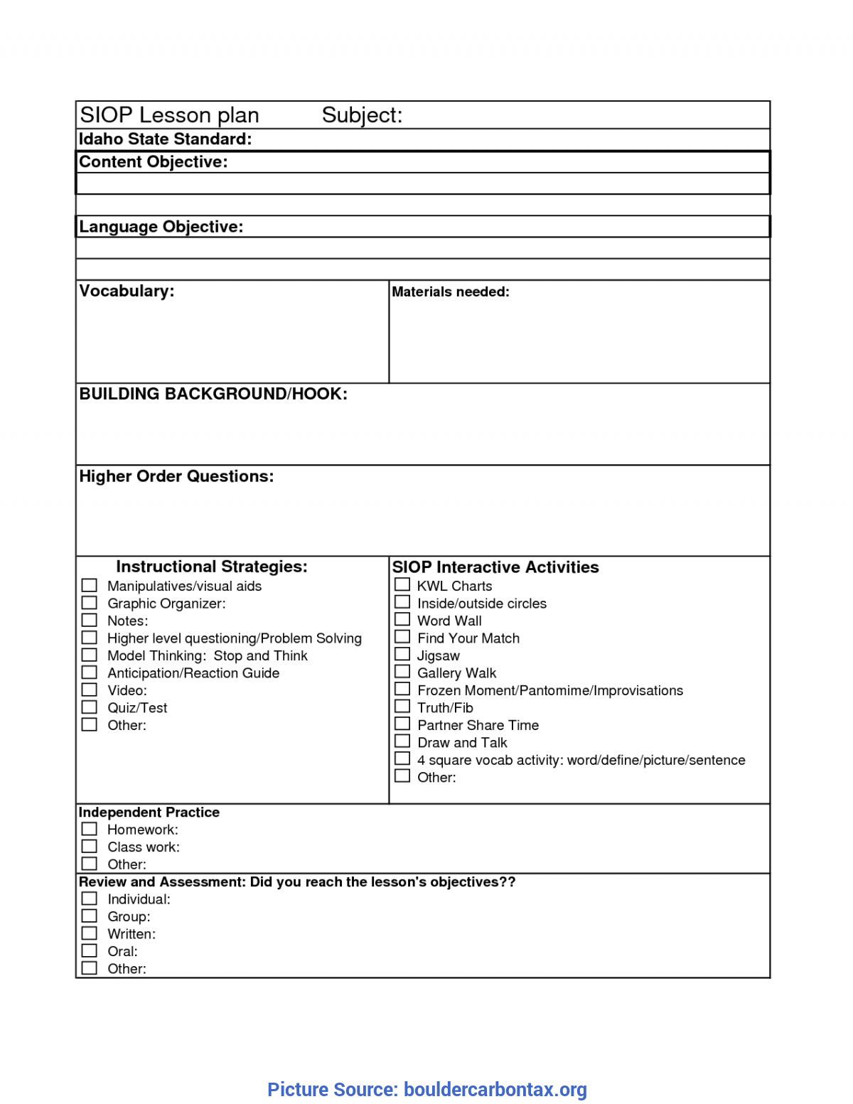 Special Daily Lesson Plan Template Doc Deped Lesson Plan