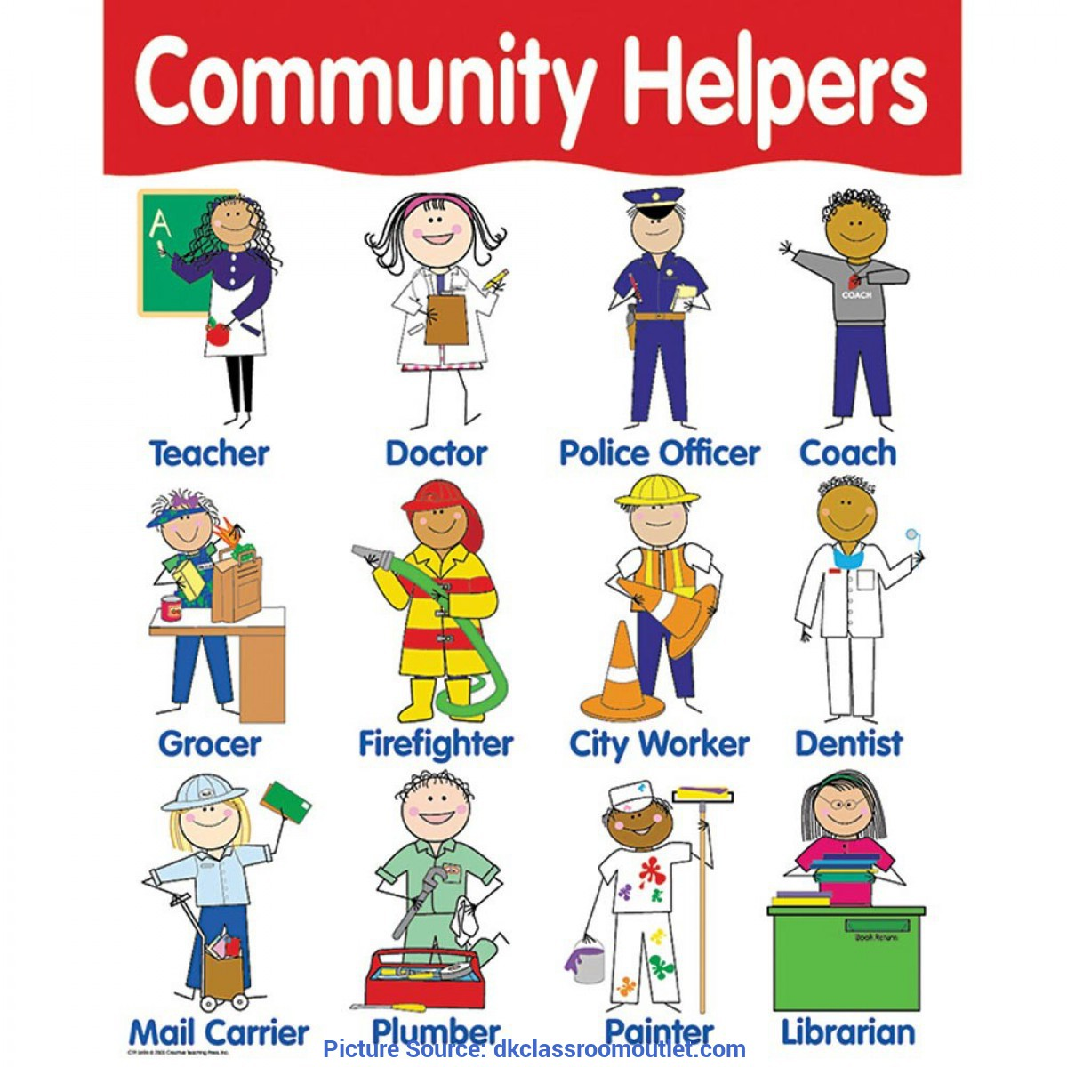 Valuable Community Helpers Lesson Plans Teacher Chart
