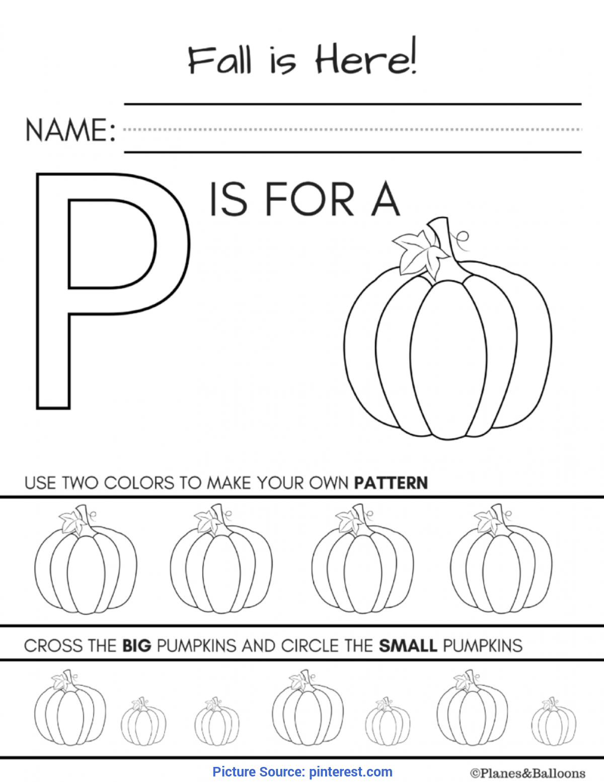 Valuable Fall Activities For Kindergarten Fall Worksheets