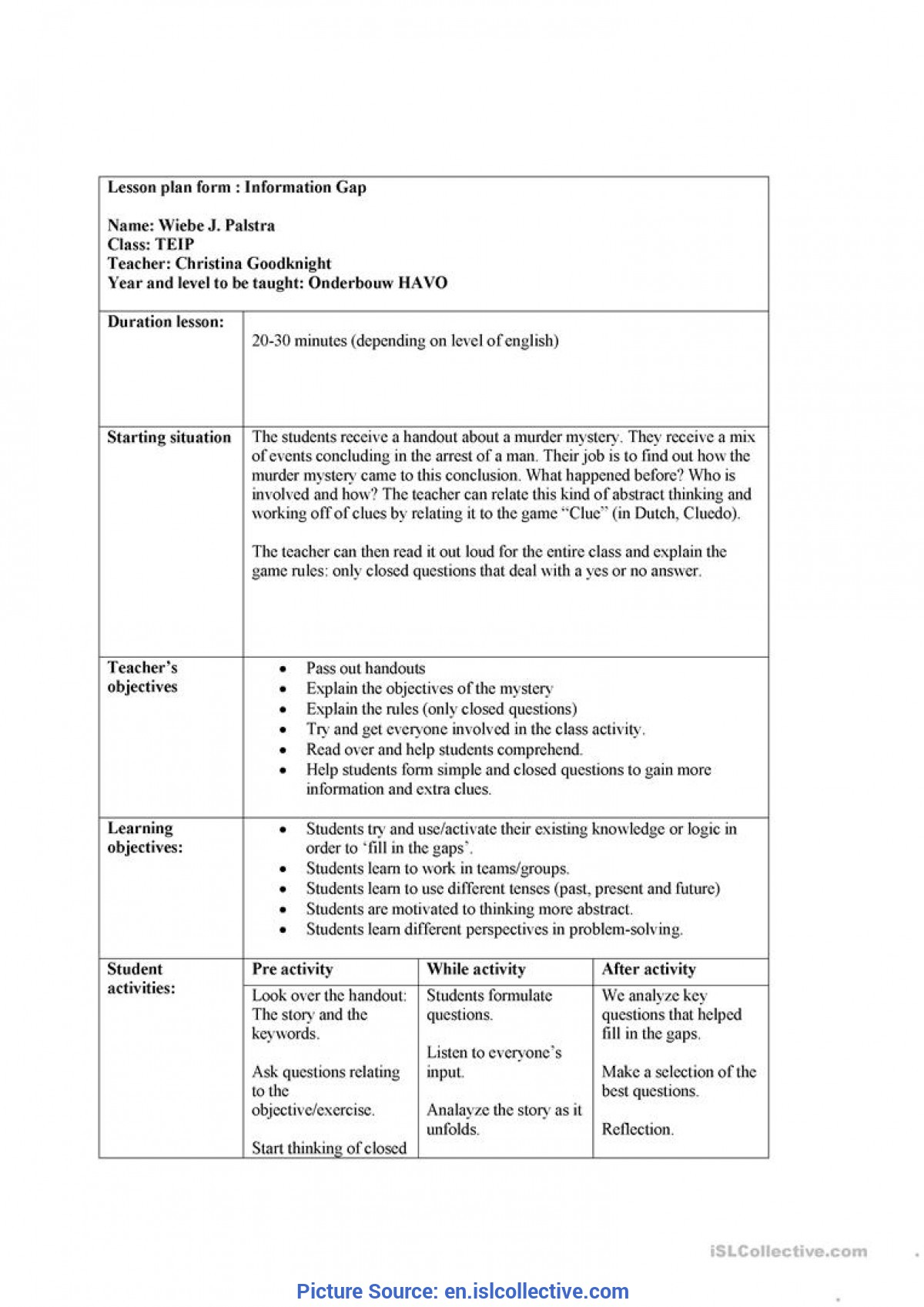 Excellent Lesson Plan Big Book Activities Mapping Skills