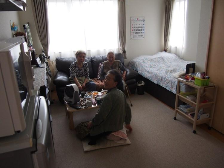 サービス付き高齢者向け住宅の様子