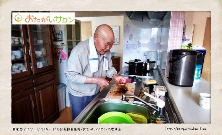味噌汁つくり(てらっち)(2018.4.26)-Vol.73-