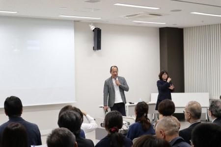 雄谷良成さん講演会のご協力ありがとうございました