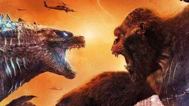 pôster de Godzilla vs King Kong. Reprodução: HBO MAX. Otageek
