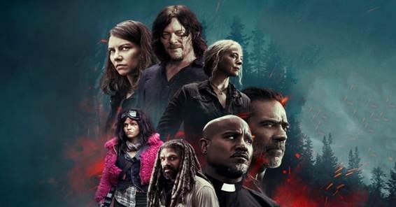 Poster da 10ª temporada de The Walking Dead Otageek