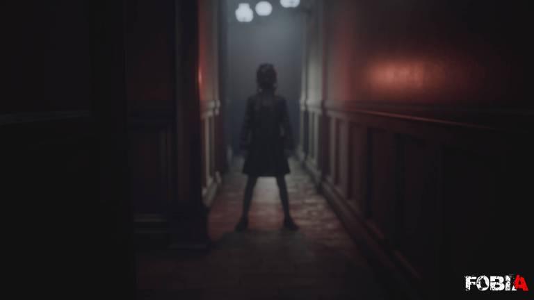 A imagem mostra a garota que atormenta o jogo FOBIA. Otageek