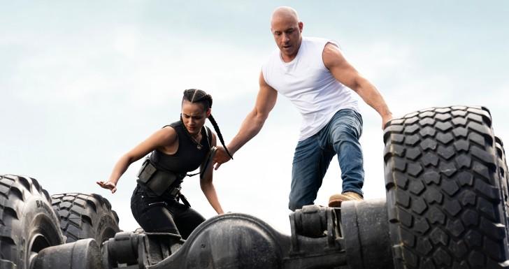 Nathalie Emmanuel e Vin Diesel em missão de Velozes e Furiosos 9 - Otageek