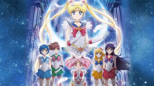 Sailor Moon Eternal capa da critica