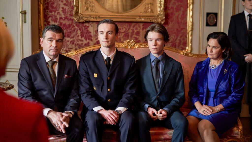 A Família Real de Young Royals.