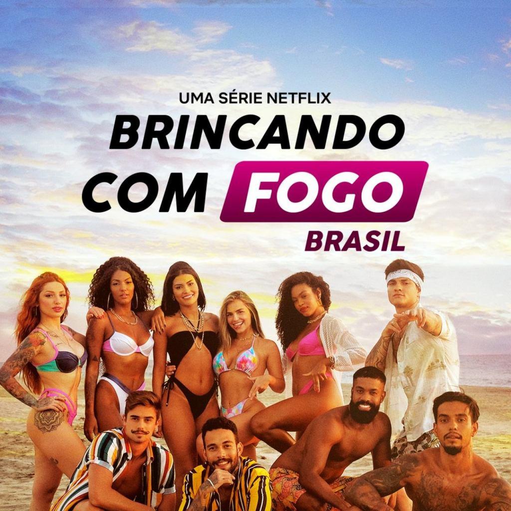 Brincando com Fogo Brasil, reality show que estreia na Netflix em junho. - Otageek