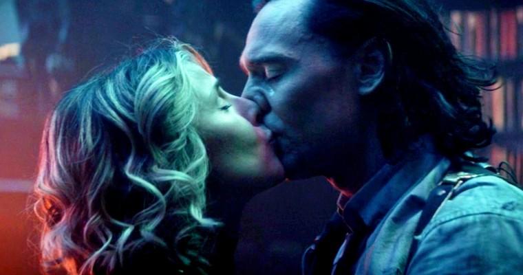 Sylvie e Loki se beijam em momentos finais do episódio - Otageek