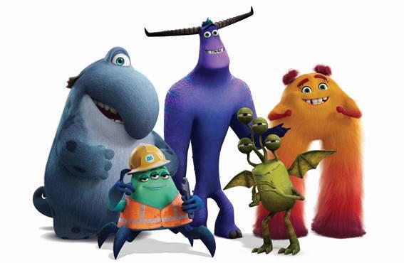 personagens monstros no trabalho - otageek