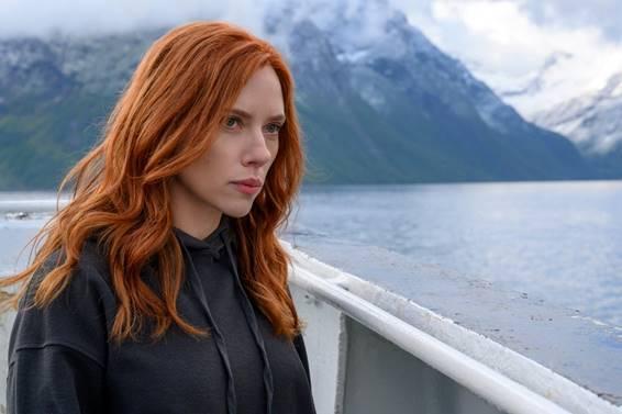 Scarlett como Viuva Negra. Otageek