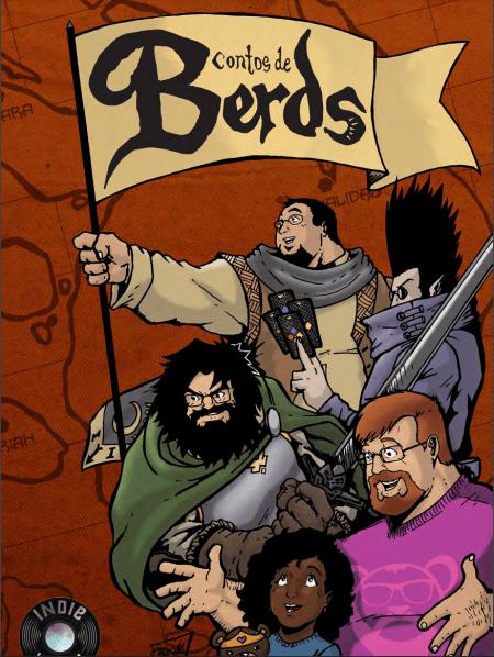 A imagem mostra a capa de Contos de Berds. Otageek