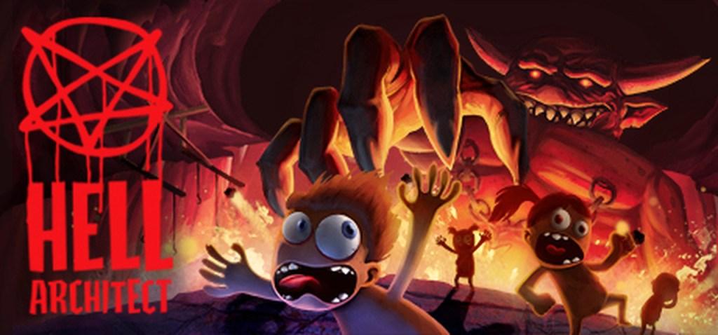 Capa artística do jogo com pessoas correndo em agonia no inferno - OtaGeek