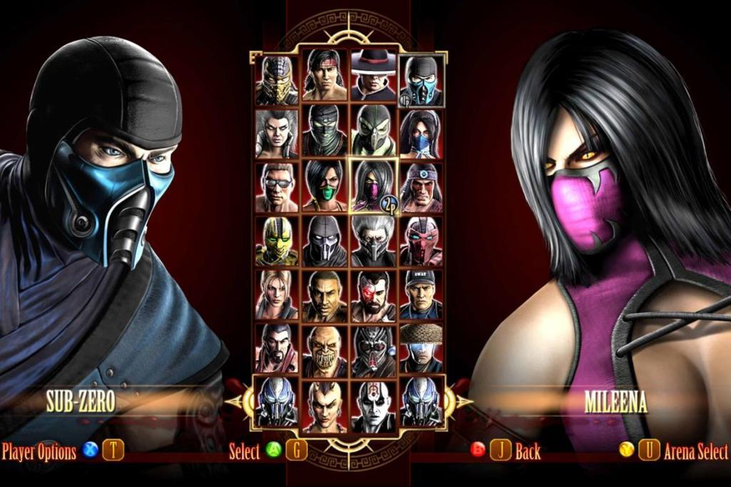 Personagens de Mortal Kombat 2011