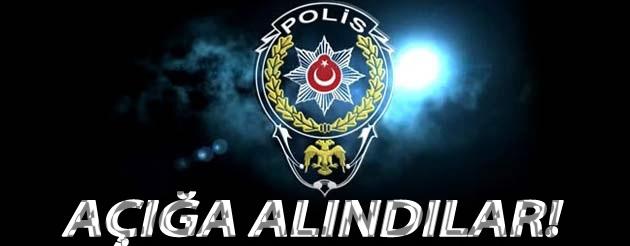 KOZAN'DA 19 POLİS DAHA AÇIĞA ALINDI