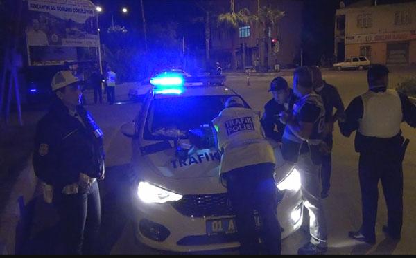 KOZAN'DA 300 POLİS İLE ''HUZUR 1″ ASAYİŞ UYGULAMASI YAPILDI