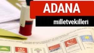 2018 ADANA MİLLETVEKİLLERİ