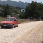KARACAOĞLAN MAHALLESİ TOROS CADDESİ ASFALTA KAVUŞTU
