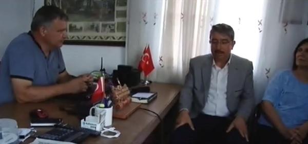 ALİ ÖZGÜNER VE YÖNETİMİNDEN OTAĞ TV'YE ZİYARET