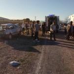 KOZAN'DA TRAFİK KAZASI 1 KİŞİ ÖLDÜ 3 KİŞİ YARALANDI