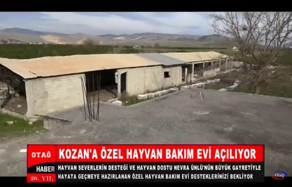 KOZAN'A ÖZEL HAYVAN BAKIM EVİ AÇILIYOR