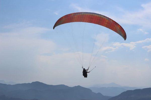 Feke'de Tapan Yamaç Paraşütü Festivali düzenlendi